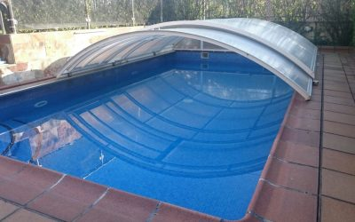 Instalación de piscina cubierta